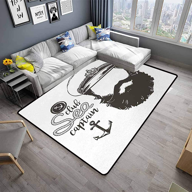 Anchor,Polyester Non-Slip Doormat Rugs 48