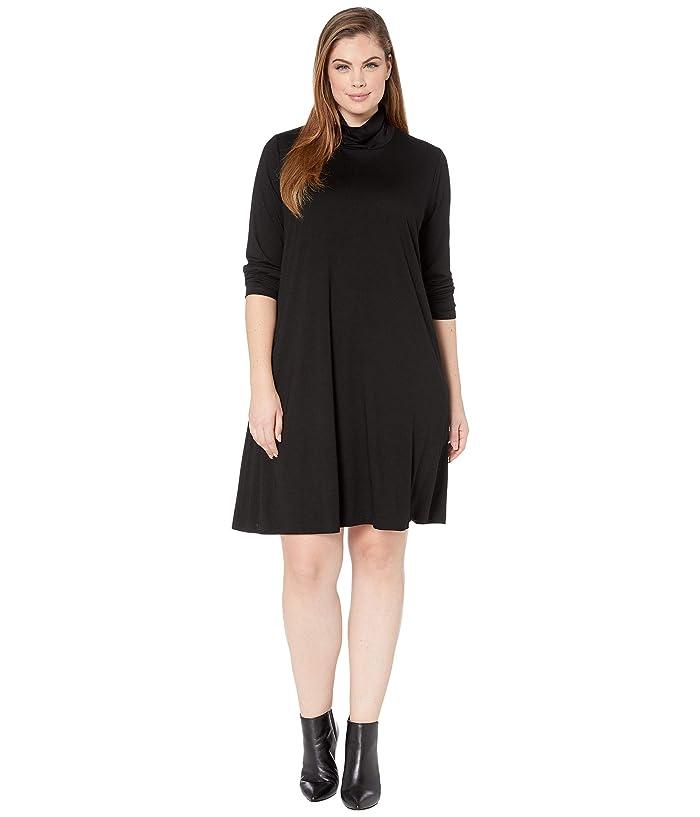Karen Kane Plus Plus Size Quinn Turtleneck Dress | Zappos.com