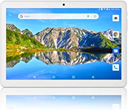 Tablet 10 inch Android 8.1 Oreo(Google Certified),3G Unlocked Phablet with Dual sim Card Slots and Cameras,2+32GB Storage,6000Mah Battery,Tablet PC with WiFi,Bluetooth,GPS