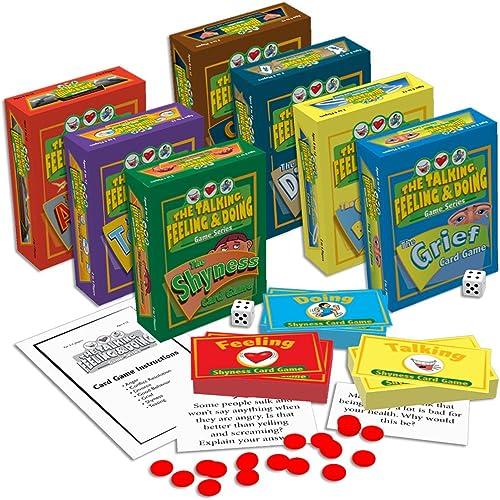 bajo precio The Talking, Feeling & & & Doing Card Games Set by The Guidance Group  precio mas barato