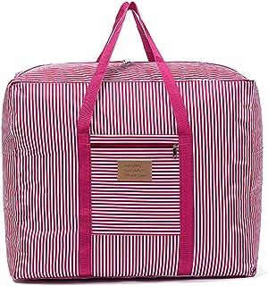Grand sac de rangement imperméable 600D Oxford Sac de voyage pour couvertures, couettes, oreillers, vêtements de déménagem...
