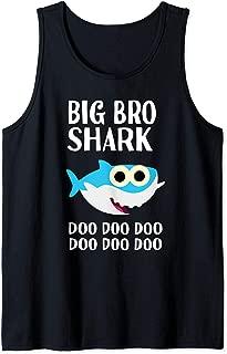 Brother Shark Doo Doo Big Bro Halloween Christmas Matching Tank Top