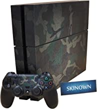 SKINOWN PS4 Skins Golden Skin Sticker Vinly Decal Cover for Sony PS4 Playstation 4 Console and Controller
