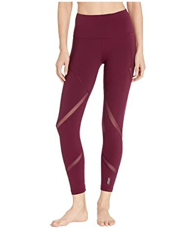 Lorna Jane Agility Core Ankle Biter Leggings (Pinot) Women