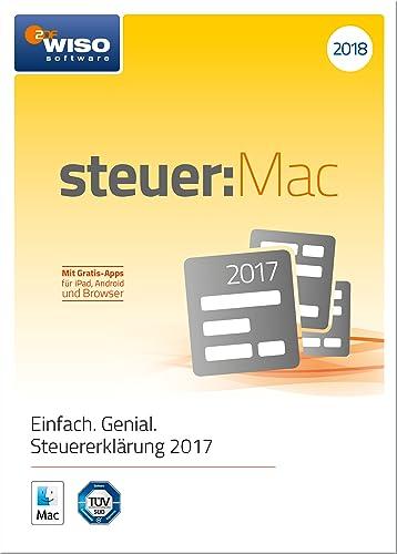 WISO steuer:Mac 2018 (für Steuerjahr 2017) [Online Code]