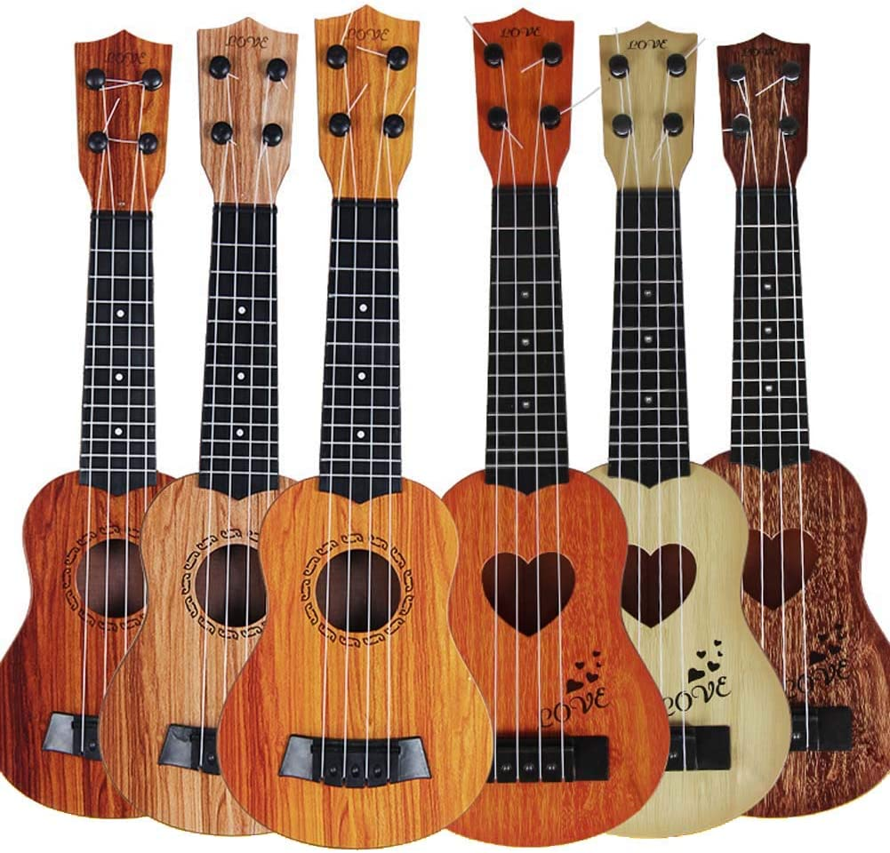 HOUTBY Guitar Toys Toddler Boy Deco Instrument Party Directly managed store Musical Clearance SALE! Limited time! for