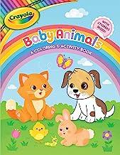 Crayola Baby Animals: A Coloring & Activity Book (Crayola/BuzzPop)