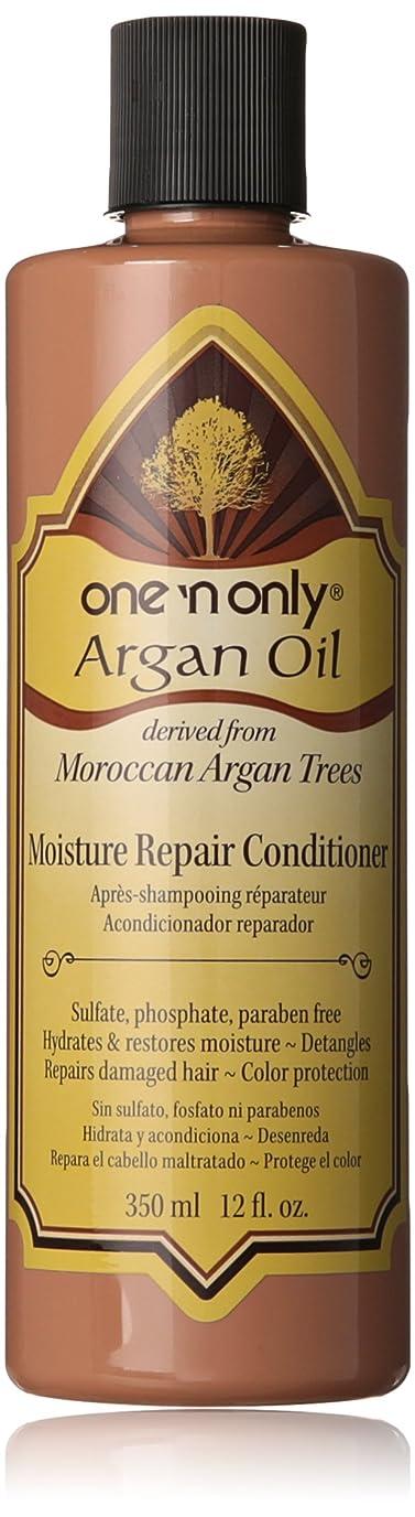 狂人感じる主にOne N' Only Argan Oil Moisture Repair Conditioner, 355 ml (並行輸入品)