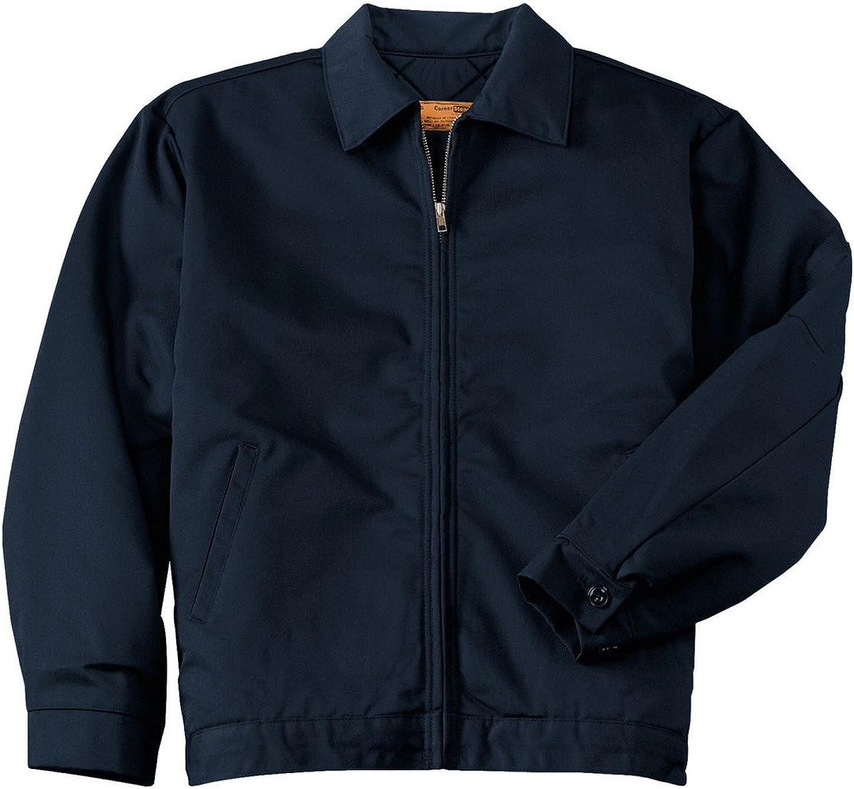 Red Kap Mens Slash Pocket Jacket