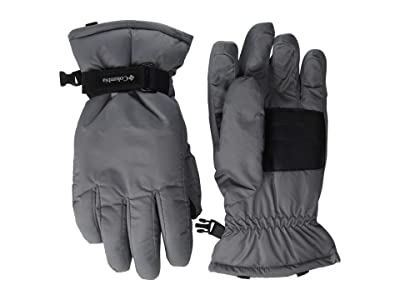 Columbia Kids Coretm Glove (Big Kids) (City Grey) Extreme Cold Weather Gloves
