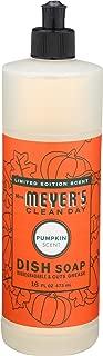 Mrs. Meyer's Clean Day 11185 Liquid Dish Soap, Pumpkin, 16 Oz