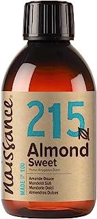 Naissance natürliches Mandelöl süß Nr. 215 250ml - Vegan, gentechnikfrei - Ideal zur Haar- und Körperpflege, für Aromatherapie und als Basisöl für Massageöle