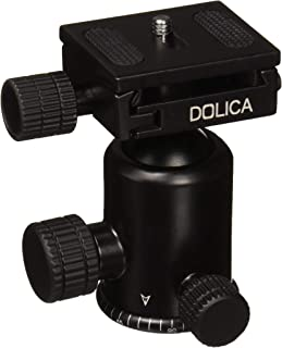 Dolica B103 Pro Level Tripod Ball Head, Black, Compact