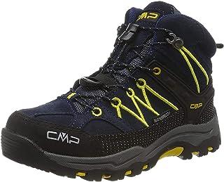 CMP Kids Rigel Mid Trekking Shoe WP, Scarpe da Arrampicata Alta Unisex-Bambini
