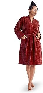 Unisex 100% Turkish Cotton Terry Kimono Bathrobes