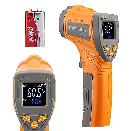 Inkbird Temperature Gun Infrared Thermometer - Best Temperature Range