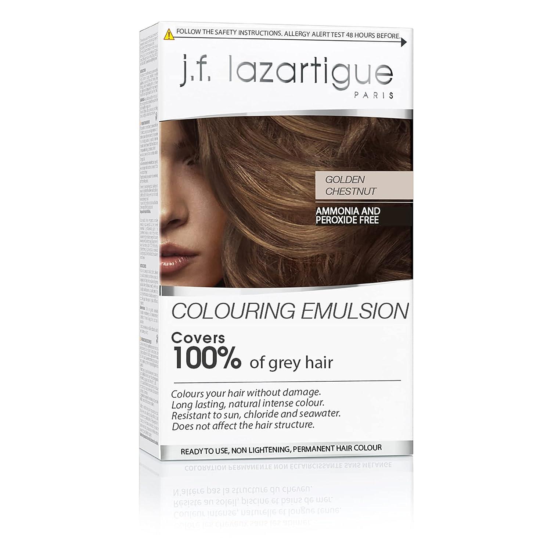 Lazartigue Colouring depot Emulsion Golden Chestnut Res Free shipping Permanent Sun