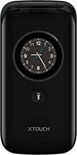 XTOUCH F40-Feature Dual Sim Mobile Phone, Black
