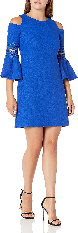 Eliza J Women's Cold Shoulder A-line Dress