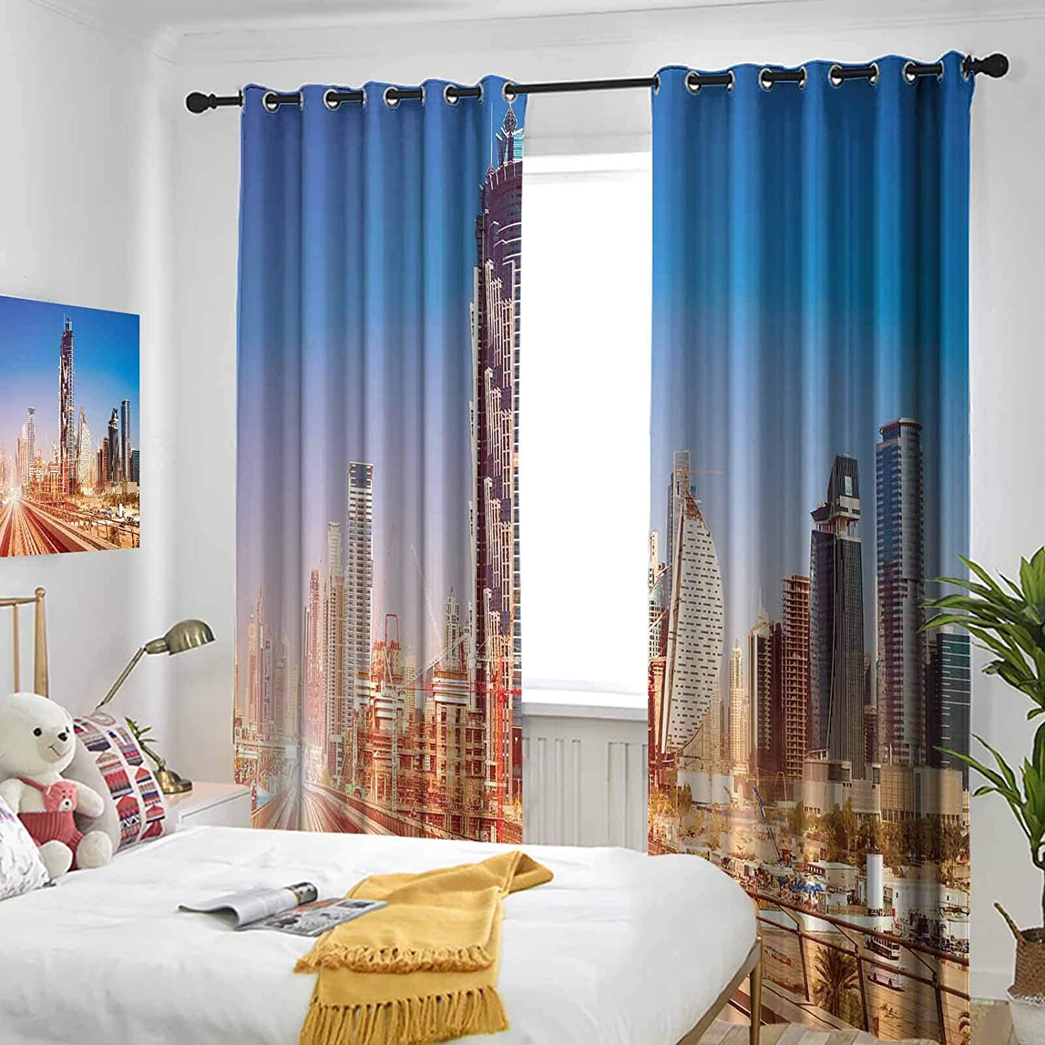 Urban Grommet Curtains for Girls Room Line Jacksonville Mall Duba in Special price a limited time Modern Subway