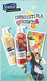 Suave Watermelon Shampoo, Tropical Fruit Conditioner, 5 Fruit Fusion Bath Bombs