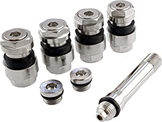 Create Idea 2paare Metallventile Stahlventile Felgenventile Reifenventile Universal Metall Ventile Set