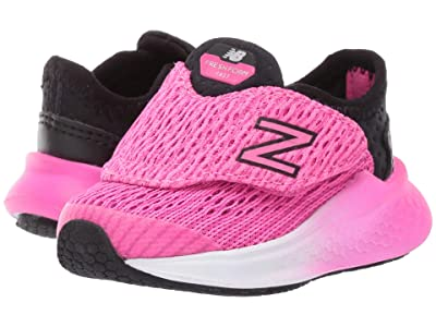 New Balance Kids Fresh Foam Fast (Infant/Toddler) (Black/Peony) Girls Shoes