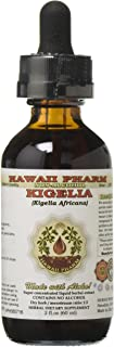 Kigelia Alcohol-Free Liquid Extract, Kigelia (Kigelia Africana) Dried Fruit Glycerite Herbal Supplement 2 oz
