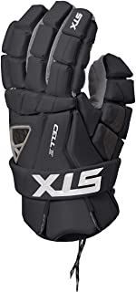 STX Lacrosse Cell 4 手套,黑色,大号