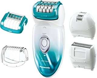 Panasonic ES-ED70-G Multi-Functional Wet/Dry Shaver and Epilator for Women, with Five Hair...