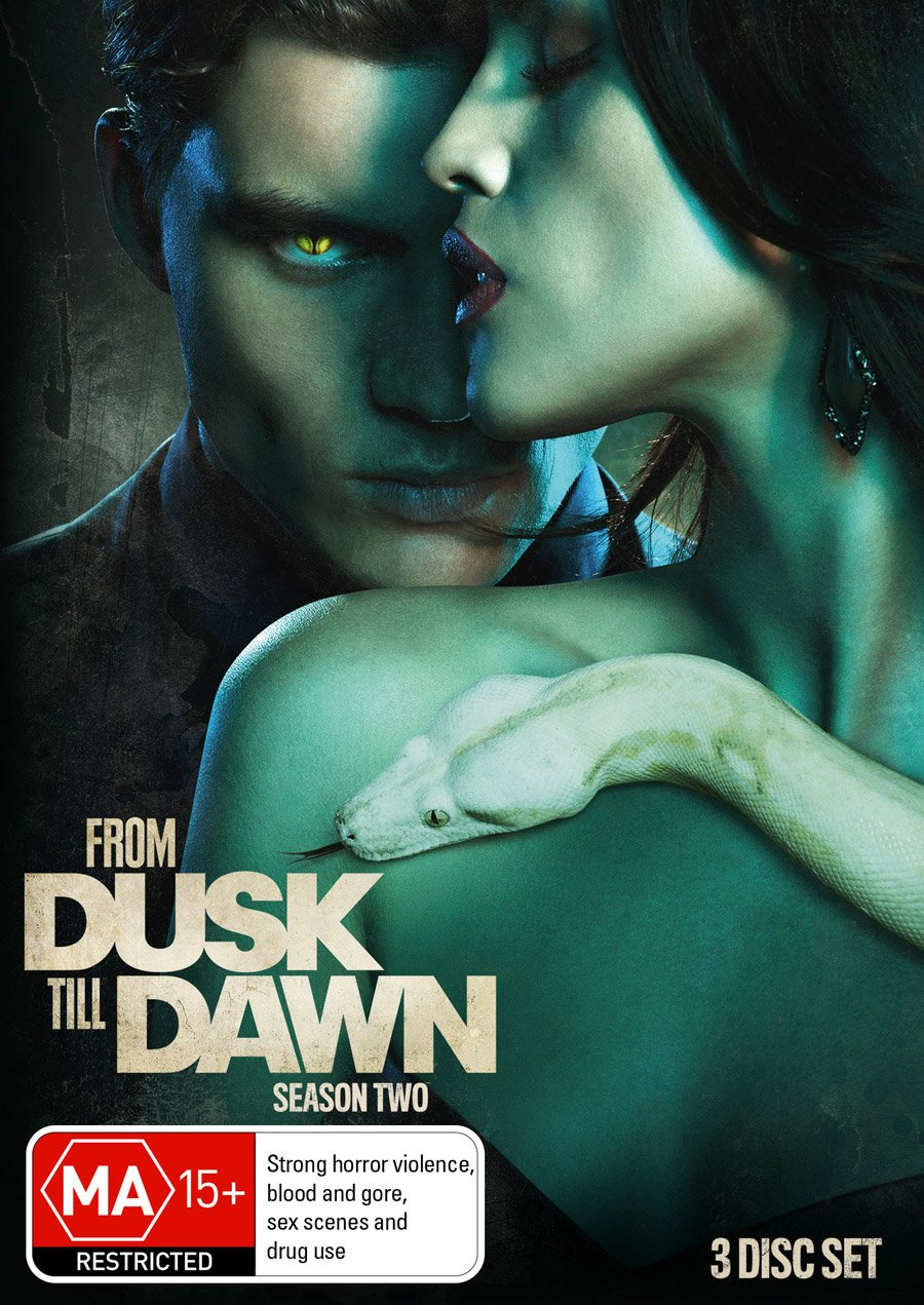 Tucson Mall From Dusk Till Max 52% OFF Dawn Season 2 NON-USA PAL Format Discs 3