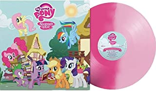 My Little Pony FIM - Exclusive Pink Colored Vinyl LP #/1000 [Condition-VG+NM]