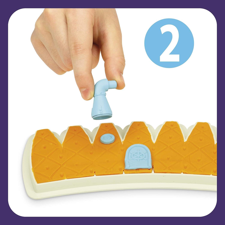 Play-Doh Builder Bob Esponja Head Pi/ña Set de construcci/ón para ni/ños a partir de 5 a/ños con 8 latas Play-Doh