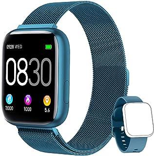 BANLVS Smartwatch, 1.4 Inch Reloj Inteligente IP67 con Puls