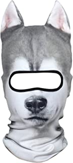 featured product AXBXCX 3D Animal Neck Gaiter Warmer Windproof Full Face Mask Scarf Ski Halloween Costume