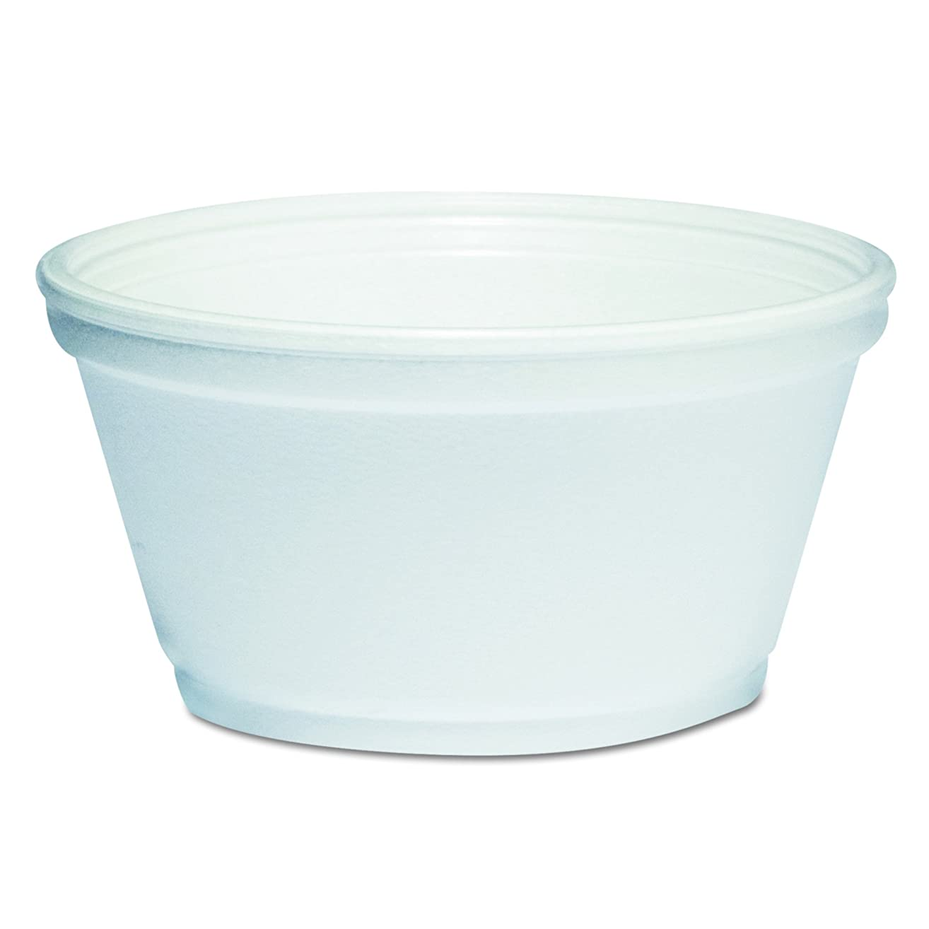 Dart 8SJ20 Foam Container, 8oz, White (Case of 1000)