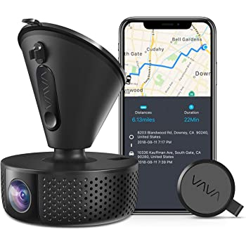 Dash Cam | VAVA 1920X1080P@60Fps | Wi-Fi Car Dash Camera | Sony Night Vision Sensor | Dashboard Camera Recorder with GPS | Snapshot Button | Parking Mode | G-Sensor | Support 128GB Max