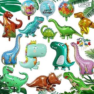MEISHANG Palloncini Foil Dinosauro,Tema del Palloncino di Dinosauro,Dinosauro Gonfiabile Palloncino,Palloncino Dinosauro C...