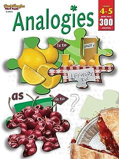 Analogies Reproducible Grades 4-5