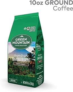 Green Mountain Coffee Roasters Fair Trade Certified Organic Sumatra Reserve Ground Coffee, Dark Roast, 10 Ounce