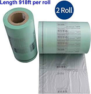 "2 PCS of Air Pillow Cushion Bag Film Roll for Mini Air Easi -Size 20x10cm (8""X4"")"
