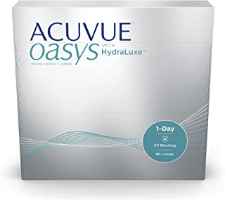 Acuvue OasysOne Day with Hydraclear Plus Pack of 90 Contact Lens, -3.75 Diopters, 14.3 mm