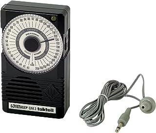 Wittner 902720 Taktell Quartz QM 2 Metronome, Black