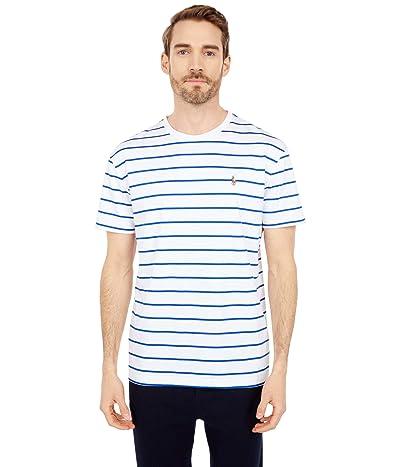Polo Ralph Lauren Classic Fit Soft Cotton T-Shirt (White/Sapphire Star) Men