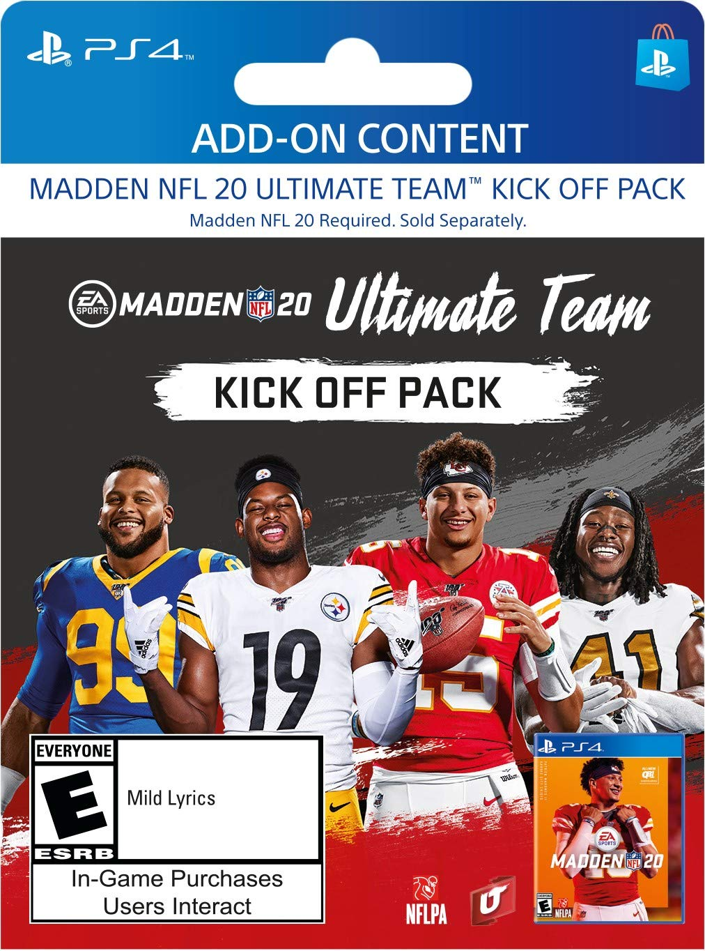 Madden NFL 20: Kick Off Upgrade - [PS4 Digital Code]