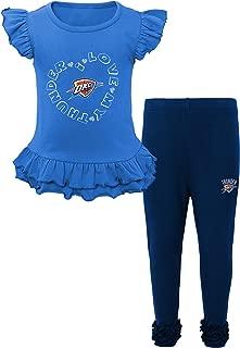 NBA Kids Team Love Ruffle Shirt and Pant Set