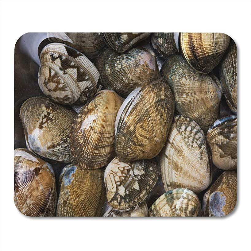 Emvency Mouse Pads Asari Venerupis Philippinarum Saltwater Clam Commonly in Miso Soup Mouse Pad for notebooks, Desktop Computers mats 9.5