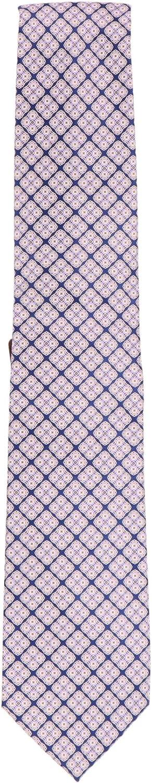 Stefano Ricci Men's Dark Blue Cravatta In Seta Stampata Luxury Necktie - One Size