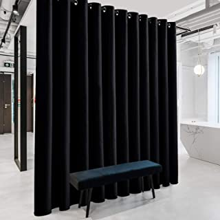 RYB HOME Blackout Room Divider Curtains Thermal Insulated...