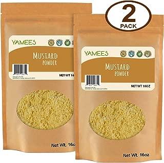 Best dry mustard ground mustard Reviews